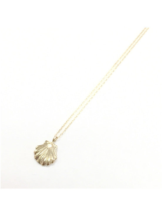 belleza by n 10k necklace shell