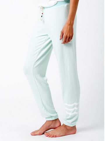 Sol Angeles: WAVES HACCI SLIM JOGGER LAGOON