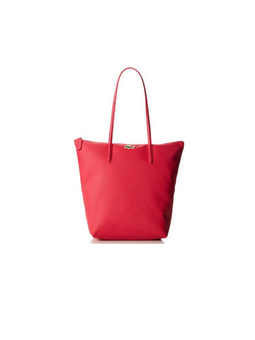 LACOSTE L.12.12 Concept Vertical Zip Tote Bag / Virtual Pink