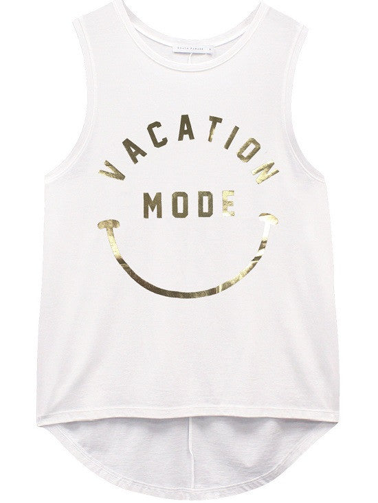 South Parade: Whitney - Muscle Tee - Vacation Mode