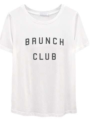 South Parade: Lola - Loose Tee - Brunch Club