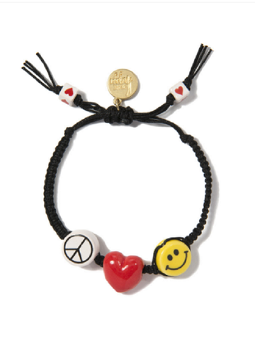 VENESSA ARIZAGA: PEACE, LOVE, AND HAPPINESS BRACELET