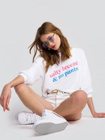 WILDFOX:Salty Air & No Pants Sommers Sweater