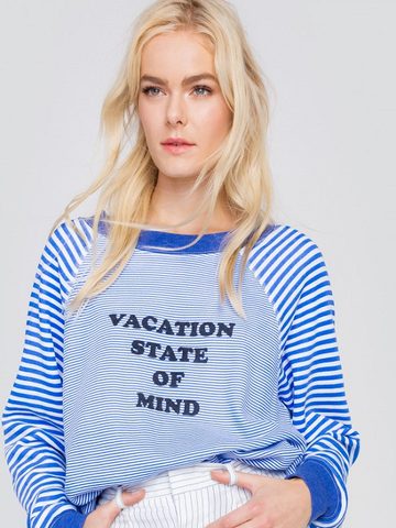 Wildfox Vacation State of Mind Sommers Sweater