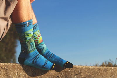 Press Release: MERGE4 Releases A Custom Sock Benefiting Bradley's House