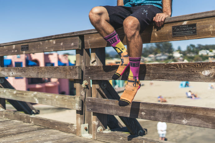 Press Release: MERGE4 Releases Endless Summer Sock