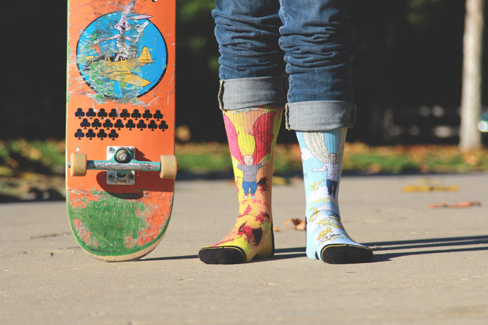 Wee Man Action Socks: Inspired by The Unstoppable Jason Acuna