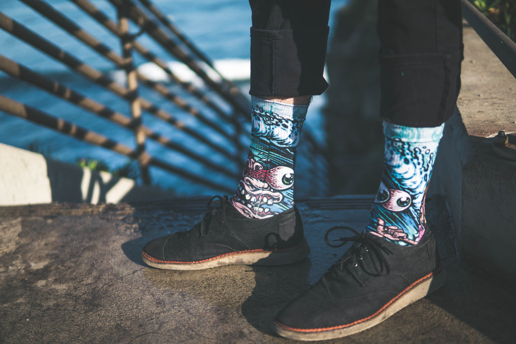 Jimbo surf freak socks