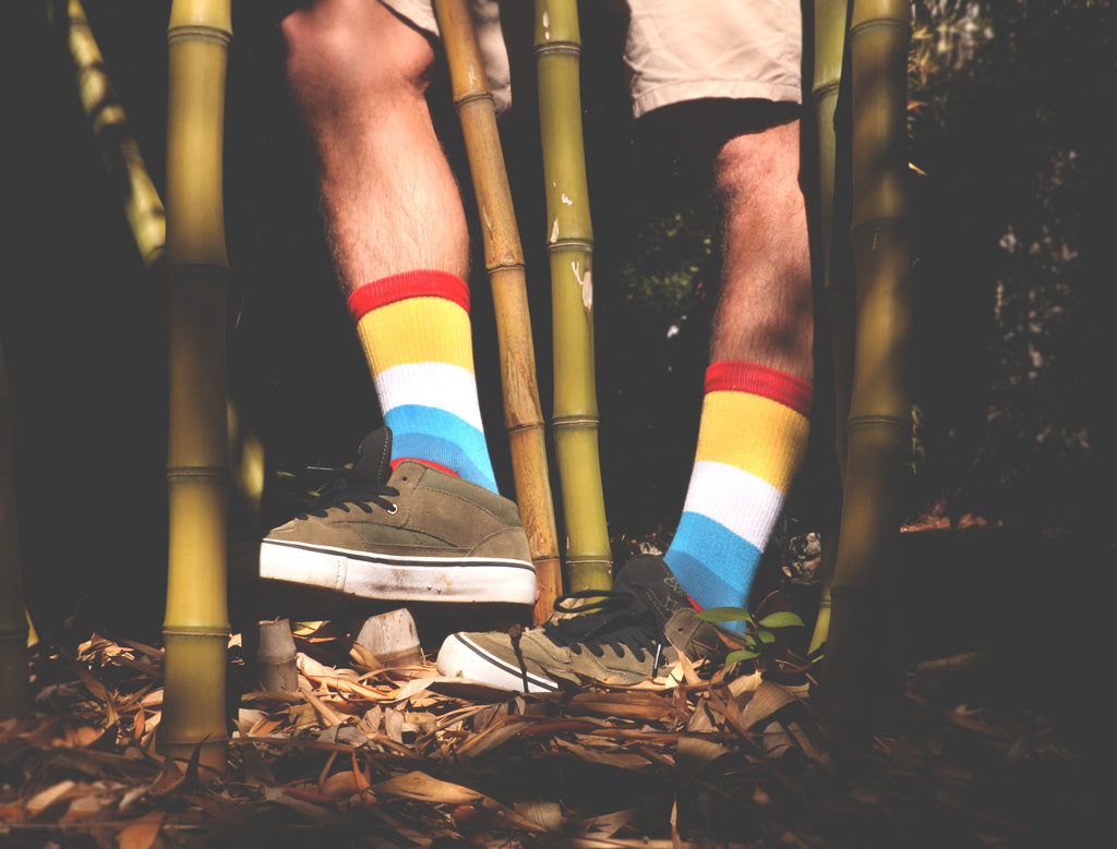 MERGE4: Bamboo socks could be the softest ethical & sustainable eco socks.