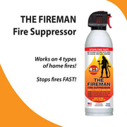 Firemen- Home and car sized fire suppressor