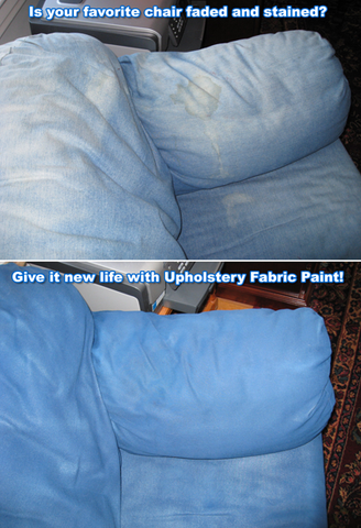 Rv upholstery fabric paint simply spray spray it new - How to get exterior paint out of clothes ...