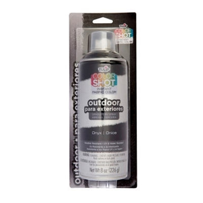 ColorShot Outdoor Onyx (Black) Upholstery Spray (8 oz. can)