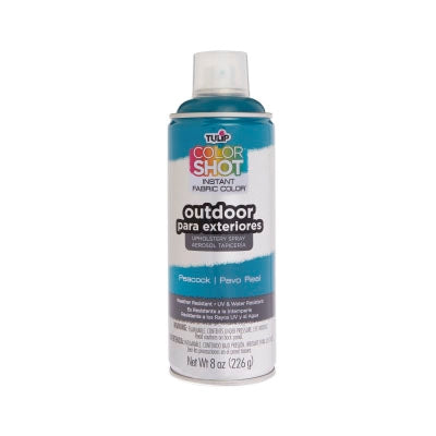 Color Shot Outdoor Peacock Upholstery Spray (8 oz. cans)