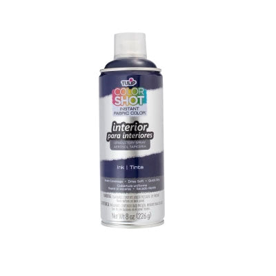 Color Shot Ink (Navy) Blue Upholstery Fabric Paint (8oz Can)