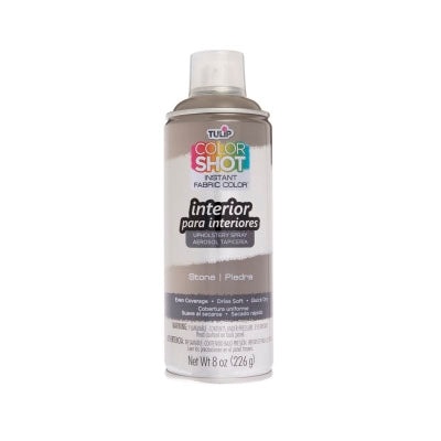 Color Shot Stone Upholstery Fabric Paint (8oz Can)