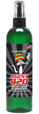 Agent 420 (4oz. Bottle) Black Glacier