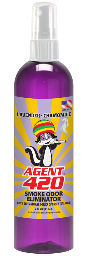 Agent 420 (4oz. Bottle) Lavender