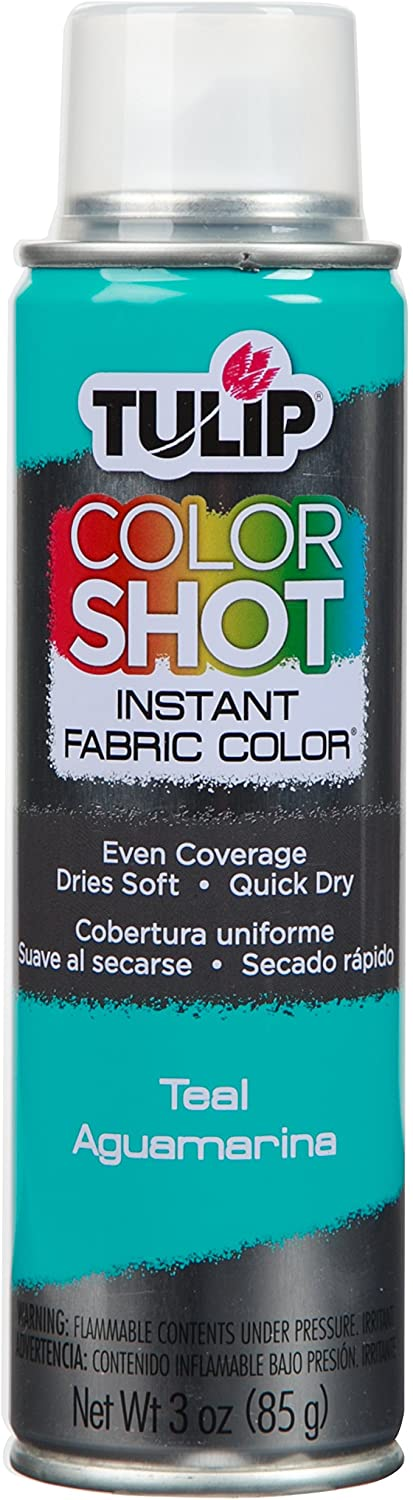 Teal - Tulip ColorShot Instant Fabric Color Spray (3oz)