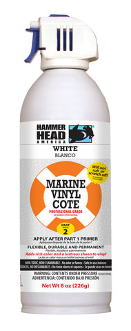 White Marine Vinyl-2 Part System