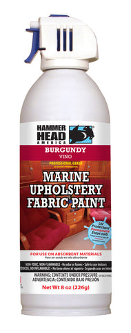 Burgundy Marine Upholstery Fabric Paint (8oz Can)