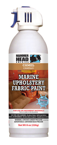Camel Marine Upholstery Fabric Paint (8oz Can)