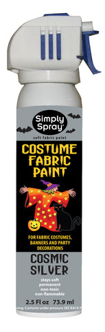 Cosmic Silver Halloween Costume Paint (2.5oz Can)