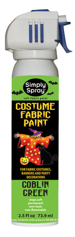 Goblin Green Halloween Costume Paint (2.5oz Can)