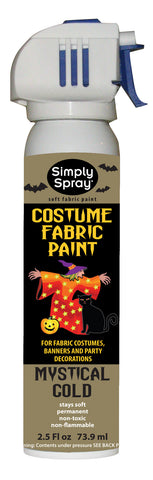Mystical Gold Halloween Costume Paint (2.5oz Can)