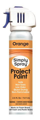 Orange Project Paint (2.5oz Can)