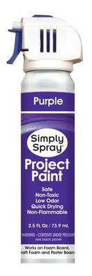 Purple Project Paint (2.5oz Can)