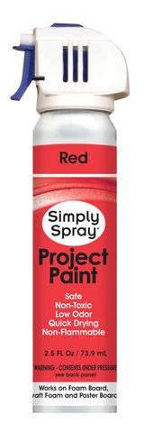 Red Project Paint (2.5oz Can)