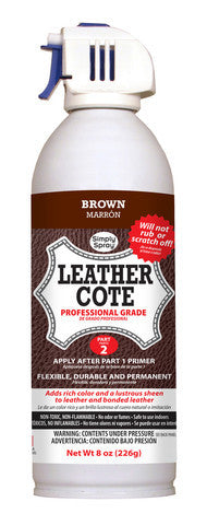 Brown Leather Dye Cote-2 Part System