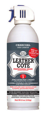 Charcoal Grey Leather Dye Cote- 2 Part System