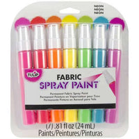 Tulip Fabric Spray Paint Mini Neon 7 Pack (.81oz each)