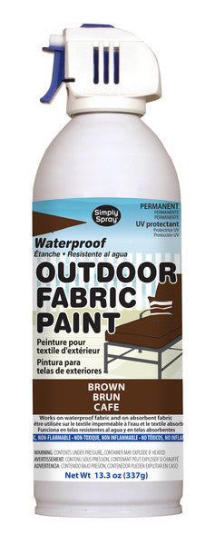 Brown Outdoor Fabric Paint