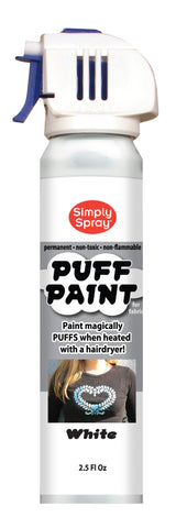 White Puff Paint (2.5oz Can)