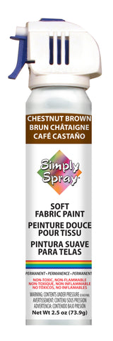 Chestnut Brown Soft Fabric Paint (2.5oz Can)