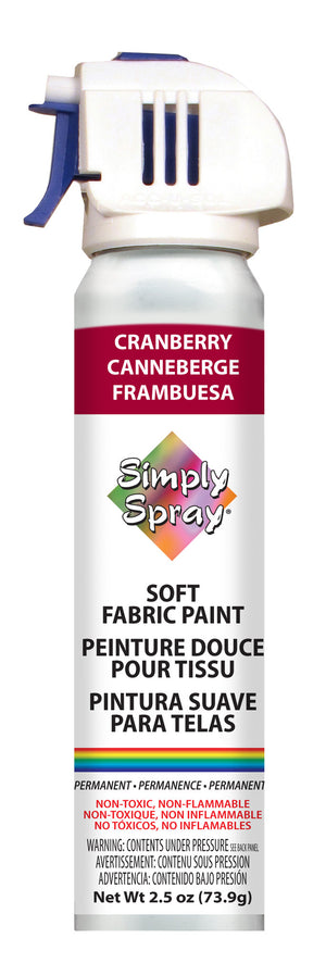 Cranberry SoftFabric Paint (2.5oz Can)