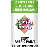 Green Apple Soft Fabric Paint (2.5oz Can)