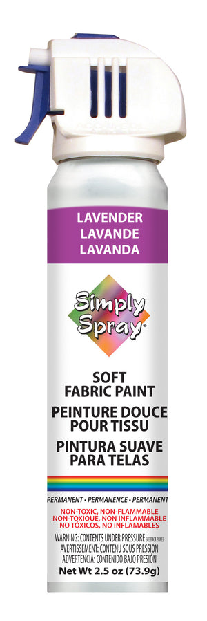 Lavender Soft Fabric Paint (2.5oz Can)