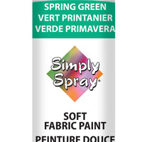 Spring Green Soft Fabric Paint (2.5oz Can)