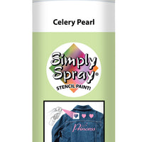 Celery Pearl Stencil Paint (2.5oz Can)