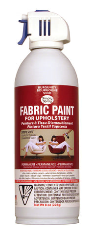 Burgundy Upholstery Fabric Paint