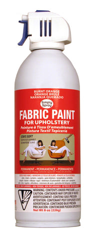 Burnt Orange Upholstery Fabric Paint (8oz Can)