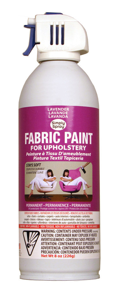 Lavender Upholstery Fabric Paint (8oz Can)
