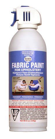 Periwinkle Upholstery Fabric Paint (8oz Can)