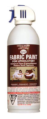 Saddle Brown Upholstery Fabric Paint (8oz Can)