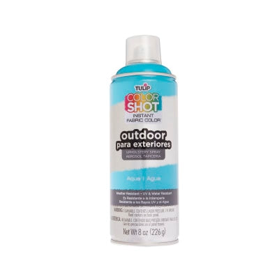 Color Shot Outdoor Aqua Upholstery Spray (8 oz. cans)