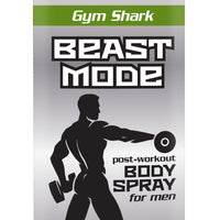 Beast Mode Gym Shark - Men's Post Workout Body Spray 3.5 oz.