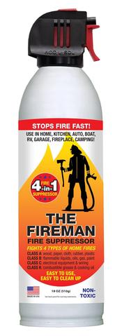 18 oz Can of Fireman- Fire Suppressor